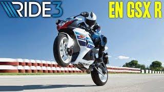 Ride 3 : On Teste la Suzuki GSXR sur le Nurb !
