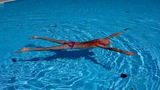 Плавание. Урок - 87 .  Упражнения  для  начинающих.