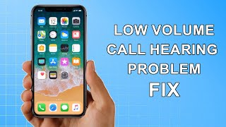 In this video i will show you how to fix iphone 5s/6s/7/8/x/xs/11 pro max low call volume caller can't hear sound problem support us on patreon :) https:...