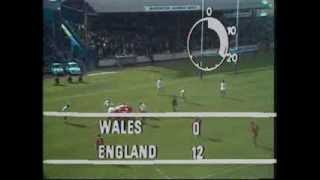 England v Wales Rugby League World Championship 1975 - Part 1