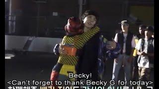 [ENG SUB] BTS memories of 2019 DVD pt1 Chicken Noodle Soup MV Behind JHope Becky G Friendship Moment