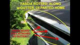 How Soffits and Fascia Are Rotted and Ruined - ProMaster Home Repair