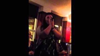 Carlos Santana - Maria Maria - Robyn drunk on karaoke