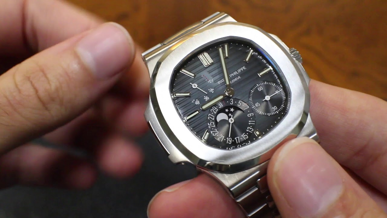 Here S Why The Patek Philippe Nautilus 5712 Is Worth 50 000 Youtube