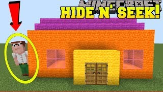 Minecraft: FAMILY GUY HIDE AND SEEK!! - Morph Hide And Seek - Modded Mini-Game