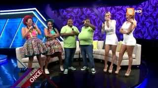 Carlos Álvarez - Los dobles de Choca, Sheyla y la mamacha - A las Once - 14/04/2015