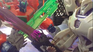 Transformers Prime Legacy Ep 13- Optimus Prime vs Megatron Stop Motion [Season Finale]