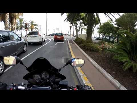 # 8 My Europe Trip on the Motorbike - South France - Menton, Canne, Monte Carlo, Nice... 12/06/2015