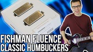 Fishman Fluence Classic Humbuckers Demo/Review || Classic Sounds Meet Modern Tech!!