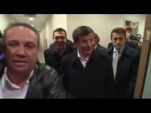 Ahmet Davutoğlu ve Aleksis Çipras...
