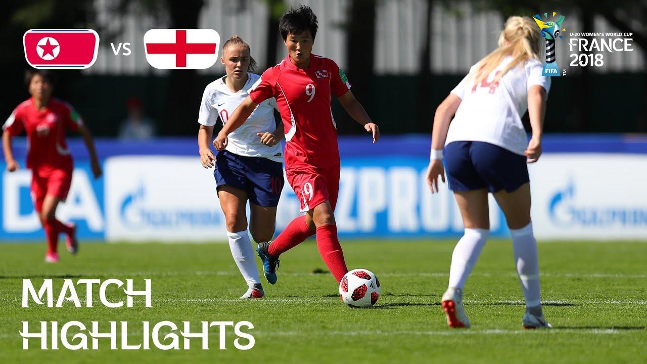 Korea DPR v. England - FIFA U-20 Women s World Cup France 2018 ... 77c41d012