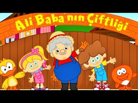 Ali Babanın Çiftliği | Bebek Şarkıları | Sevimli Dostlar Ali Babanin Ciftligi | Adisebaba