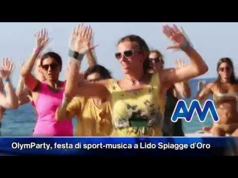 OlymParty, festa di sport musica a Lido Spiagge d'Oro