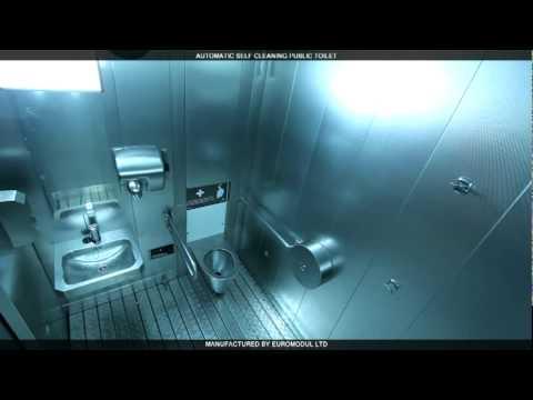 urbantech.biz - Servizio Igienico  Automatic self cleaning public toilet