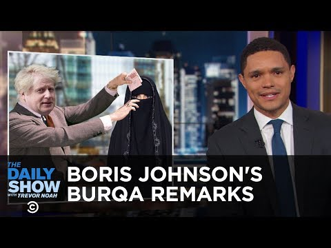 Popular Movies at the Oscars, Boris Johnson's Burqa Remarks & Crime-Fighting Cattle   The Daily Show
