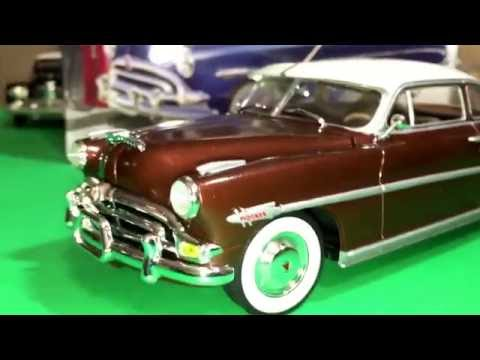 Plastic Model Kit Review: 1953 Hudson Hornet by Moebius Models in 1/25 scale