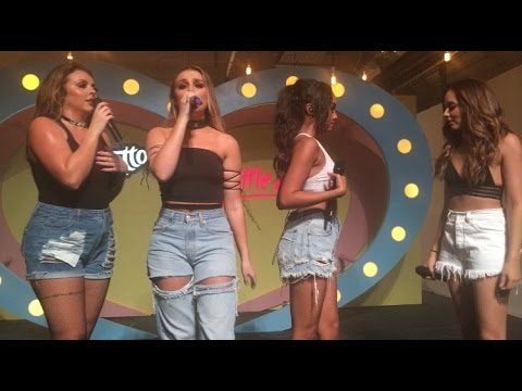 Little Mix - How ya Doin'? (Acapella) at Cornetto Gig