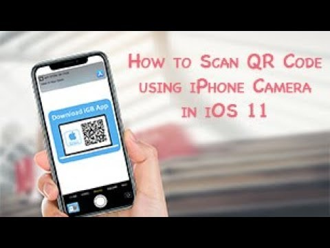 Scan QR Code using iPhone Camera in iOS 11