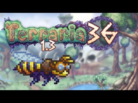 Terraria 1.3 Part 36 - BEE MOUNT