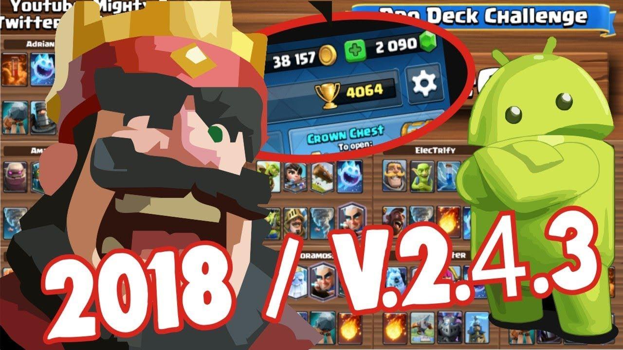 download clash royale mod apk versi terbaru 2019
