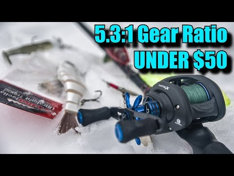 LURES For SLOWER Gear Ratio Reels
