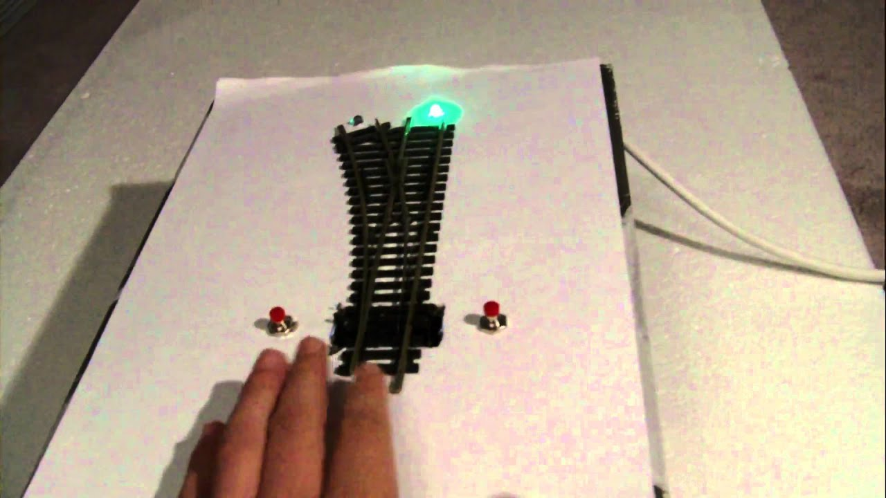 Wiring Diagram Seep Point Motors : Points and leds with under mounted motors youtube