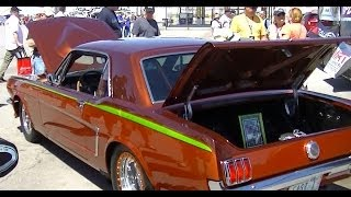 1964 1/2  Mustang Restomod interview owner- builder Gary at The Mustang 50th Celebration Las Vegas