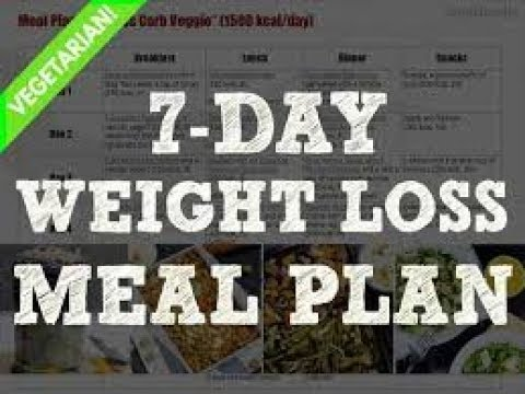 Lose up to 5 kgs in 7 days / 700 calorie diet plan,