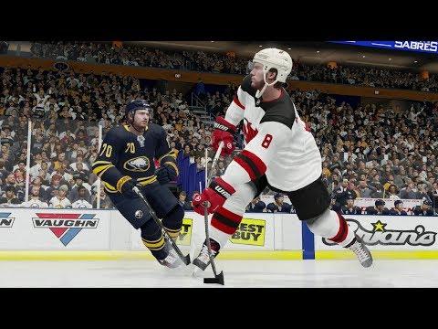 NHL 19 Gameplay New Jersey Devils vs Buffalo Sabres | NHL 19 EA Access