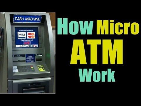 What are Micro ATMs, What they Do and How they function ? |Hindi|