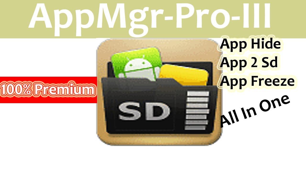 appmgr iii pro apk