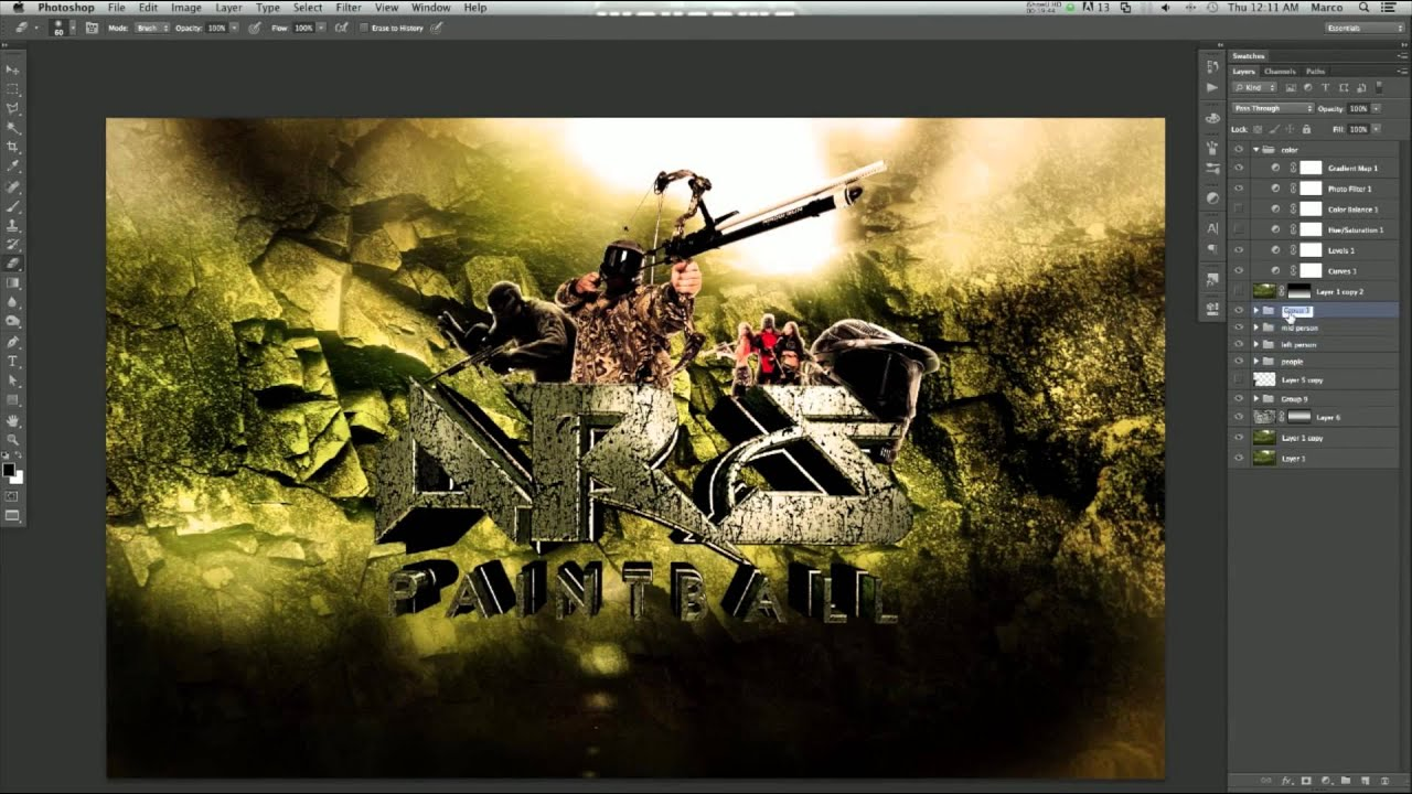 ARS Paintball Wallpaper - Speedart Video