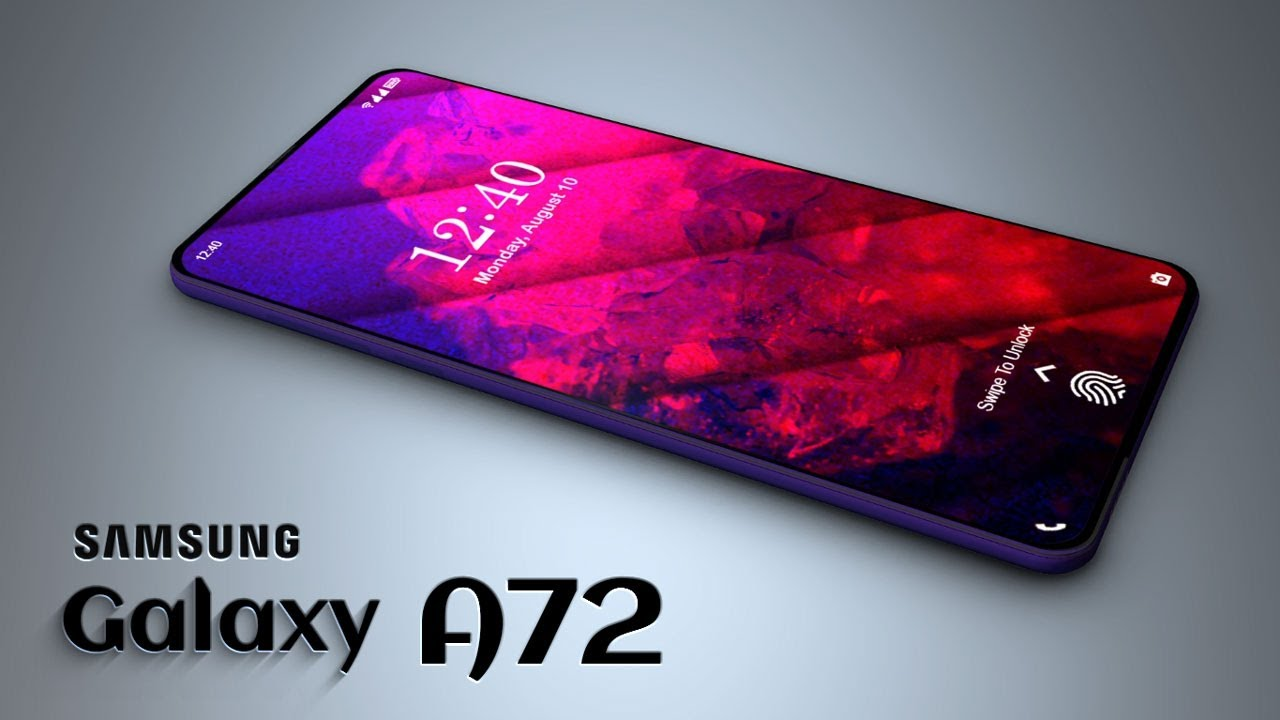 Samsung Galaxy A72 Wallpapers are now available for download
