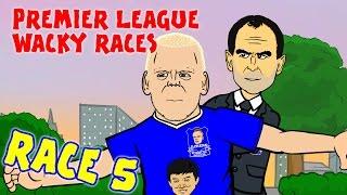 🚦RACE 5🚦 Premier League Wacky Races (Everton Chelsea Naismith hattrick 3-1)