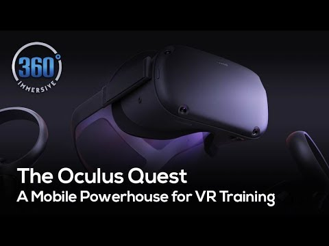 The Oculus Quest – A Mobile Powerhouse for VR Training