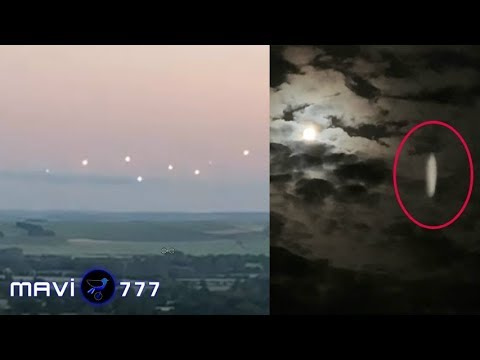 Strobing UFOs seen in the skies over England