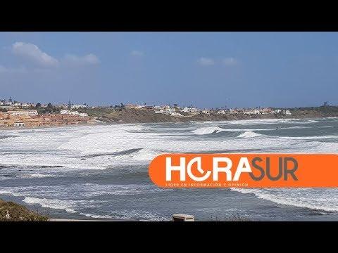 🎥 El fuerte temporal de levante se mantendrá en Algeciras hasta el viernes