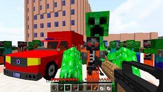 Зомби - Роботы! День 42. Зомби Апокалипсис в Майнкрафт