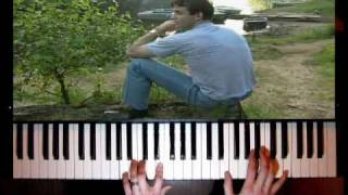 Михаил Круг - Золотые купола - (пианино А. Дзарковски)