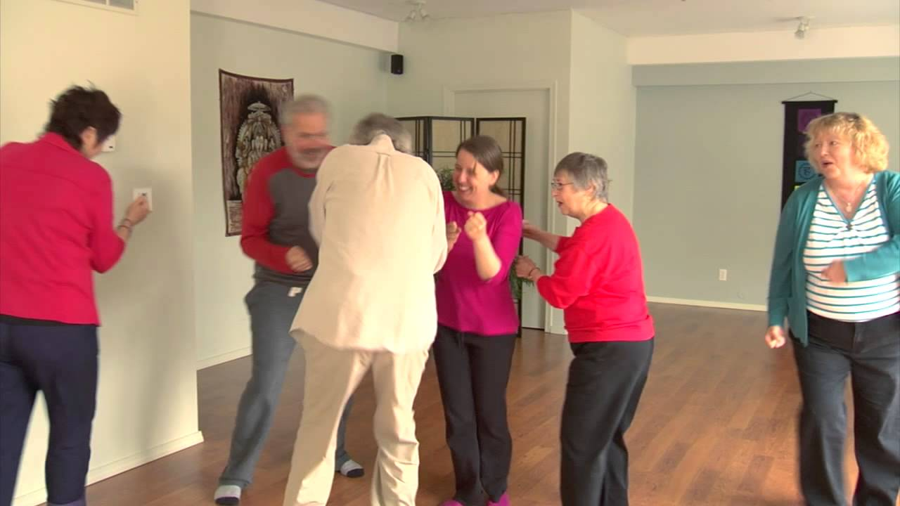 healthy aging features yoga for seniors