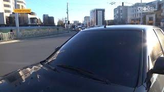 ГИБДД Ставрополя провело рейд против тонированных автомобилей