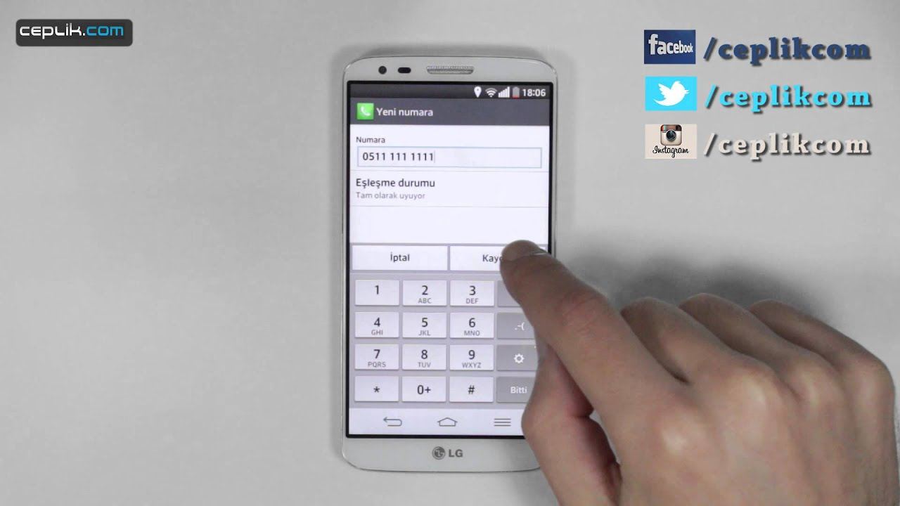 Samsung Galaxy modellerde Numara Engelleme Yöntemi 1