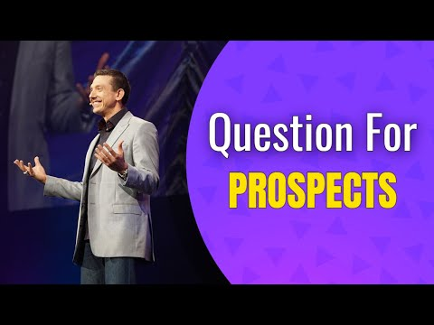 Close More Prospects With This Question | Network Marketing