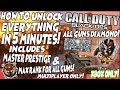 Black ops 2 EASY *UNLOCK* EVERYTHING IN 5 MINUTES! MASTER PRESTIGE+DIAMOND FOR ALL GUNS!(XBOX ONLY)