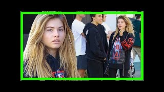 'most beautiful girl in the world' thylane blondeau, 16, lunches in la
