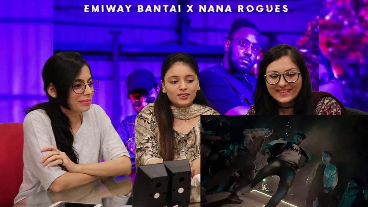 EMIWAY X NANA ROGUES - CHARGE (OFFICIAL MUSIC VIDEO) | Pakistan Reaction next Ladka alag sa emiway