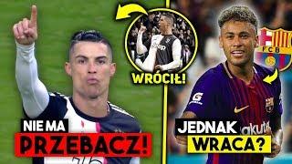 Szok! HATTRICK CRISTIANO RONALDO!  Neymar WRACA do Barcelony! Tylko on zastąpi Messiego