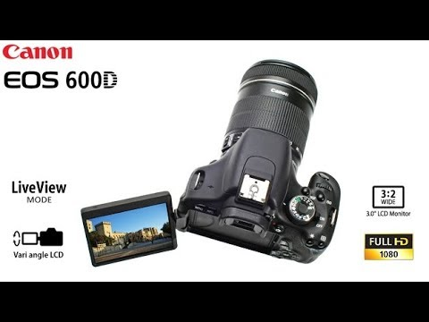 Canon T3i / 600D: Buttons and Basic Operations - YouTube
