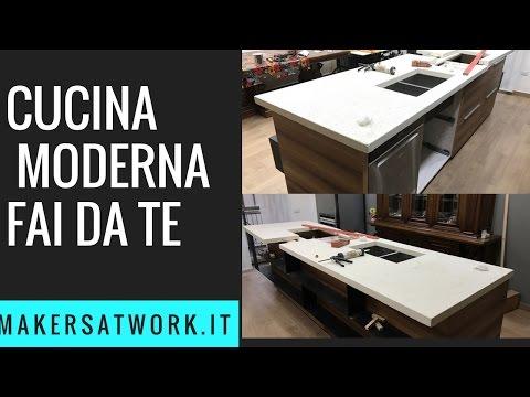 Come costruire una cucina moderna Vol 1 (struttura) - Fai da ...