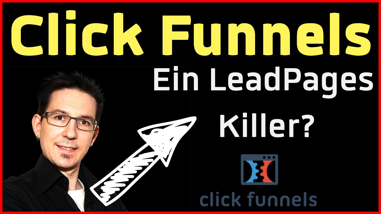 ClickFunnels - Funnel - und Landing Page Software Review (Deutsch)